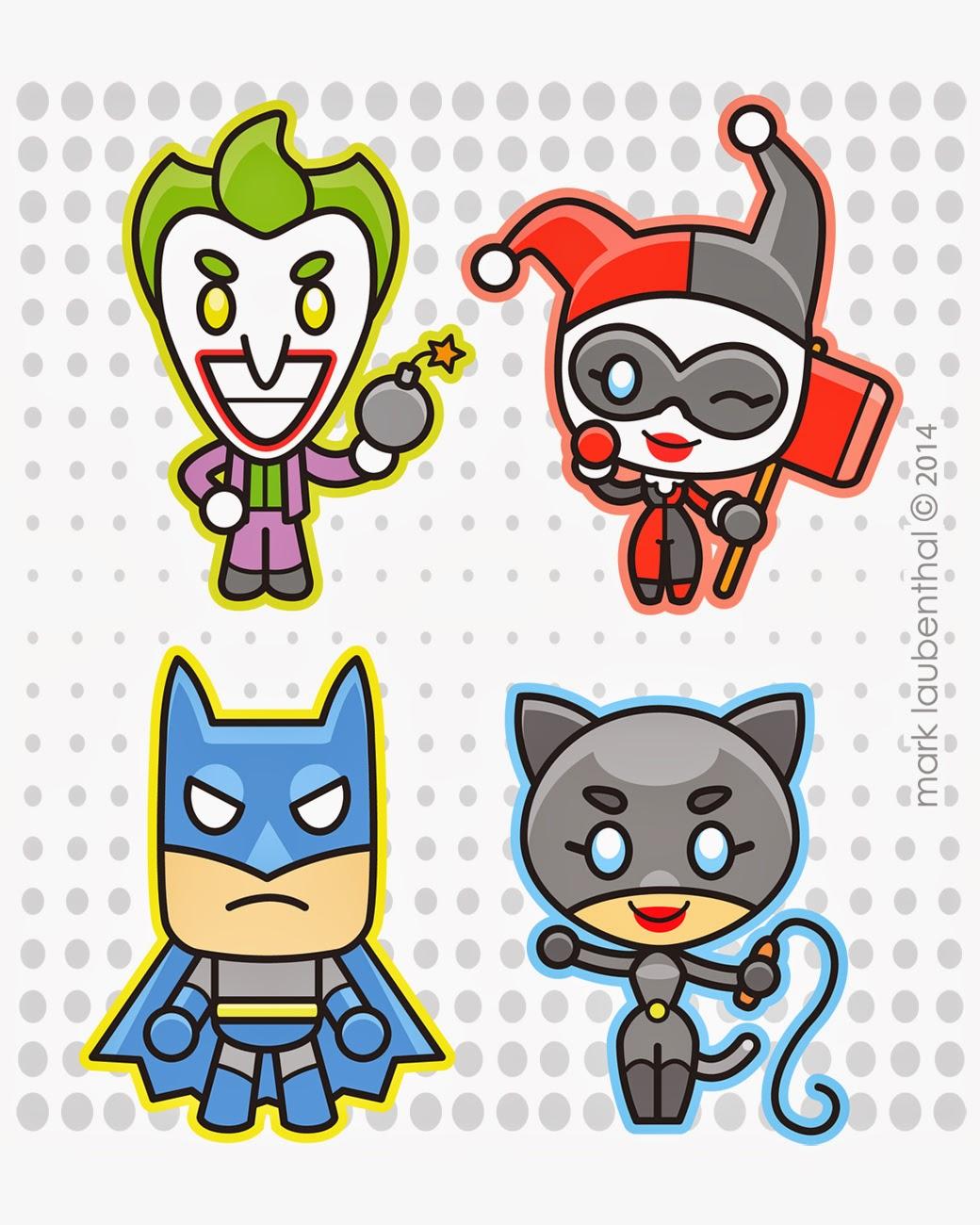 Scribble Nerds: Batman: Chibi Edition