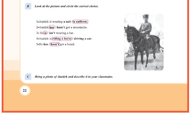 9. Sınıf Yıldırım Yayınları İngilizce A1.2 Ders Kitabı 22. Sayfa Cevapları Theme 1 People and Society