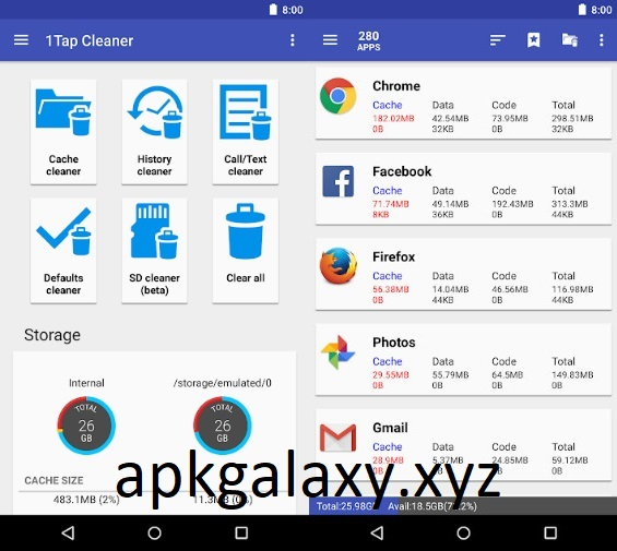1Tap Cleaner Pro [Patched] Apk