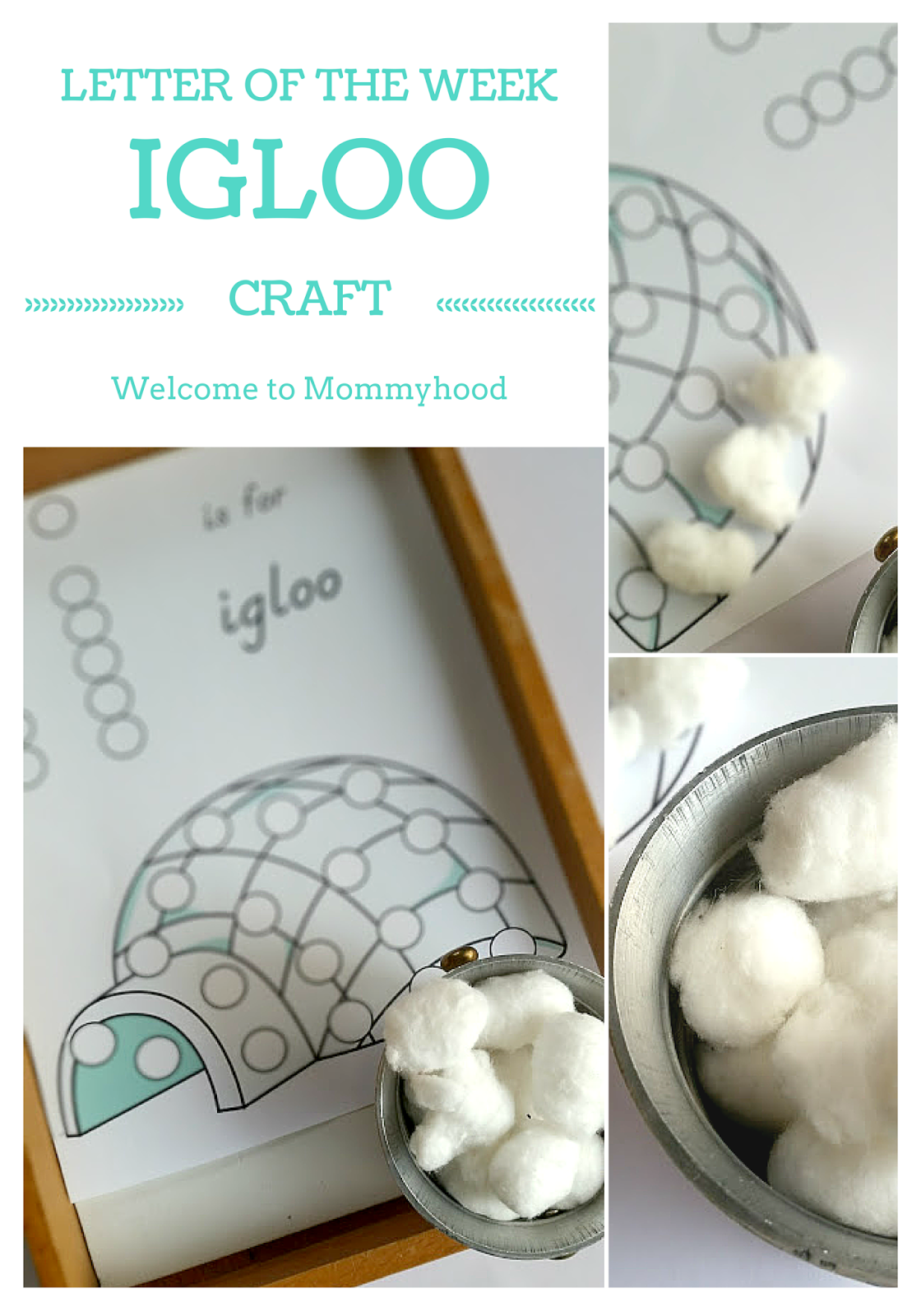 Welcome To Mommyhood Hands On Letter I Activities For Kids