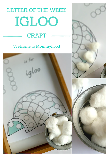 Tot Labs Presents Letter of the Week: Hands on Letter I Activities for kids by Welcome to Mommyhood #prsechoolactivities, #homeschool, #letteroftheweek, #montessori