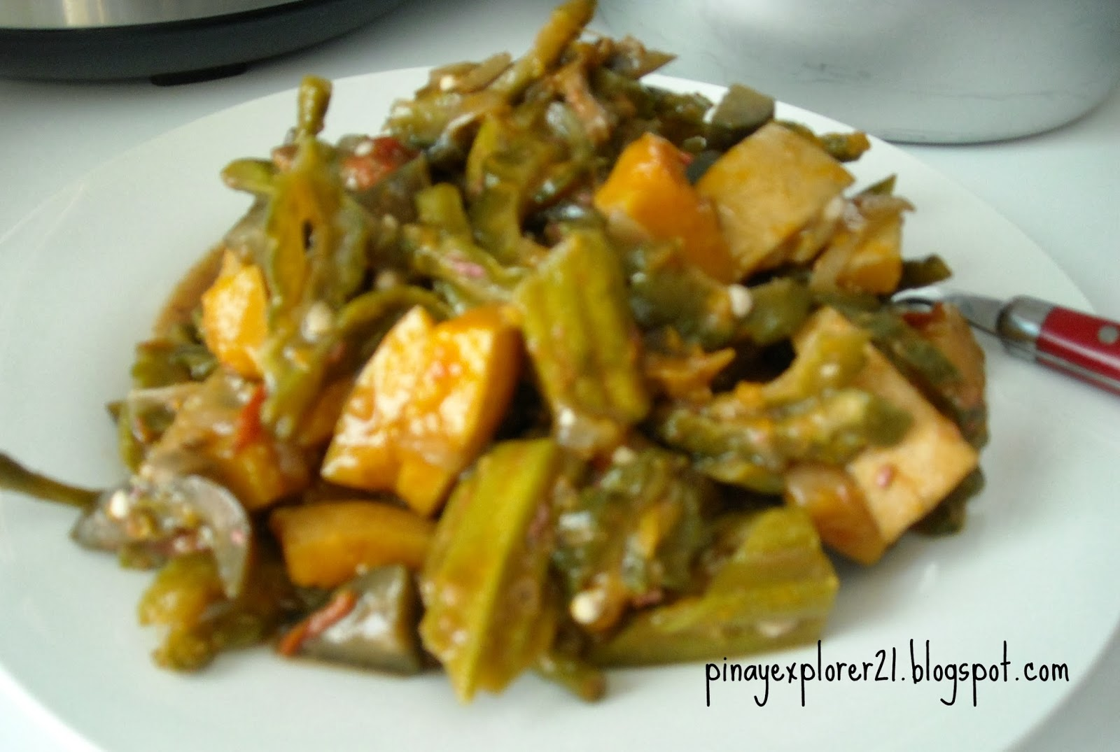 The Sweet Cuisinera Pinakbet Pakbet Recipe