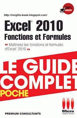 Télécharger Livre Gratuit Excel 2010 Fonctions et formules Le guide complet pdf