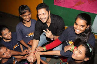 Shreyas Talpade celebrates Raksha Bandhan with 'The Akanksha Foundation' kids