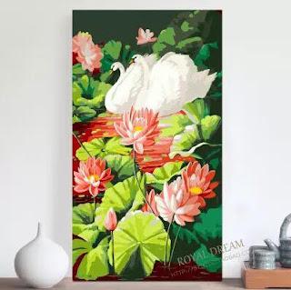 Tranh son dau so hoa o Hien Ninh