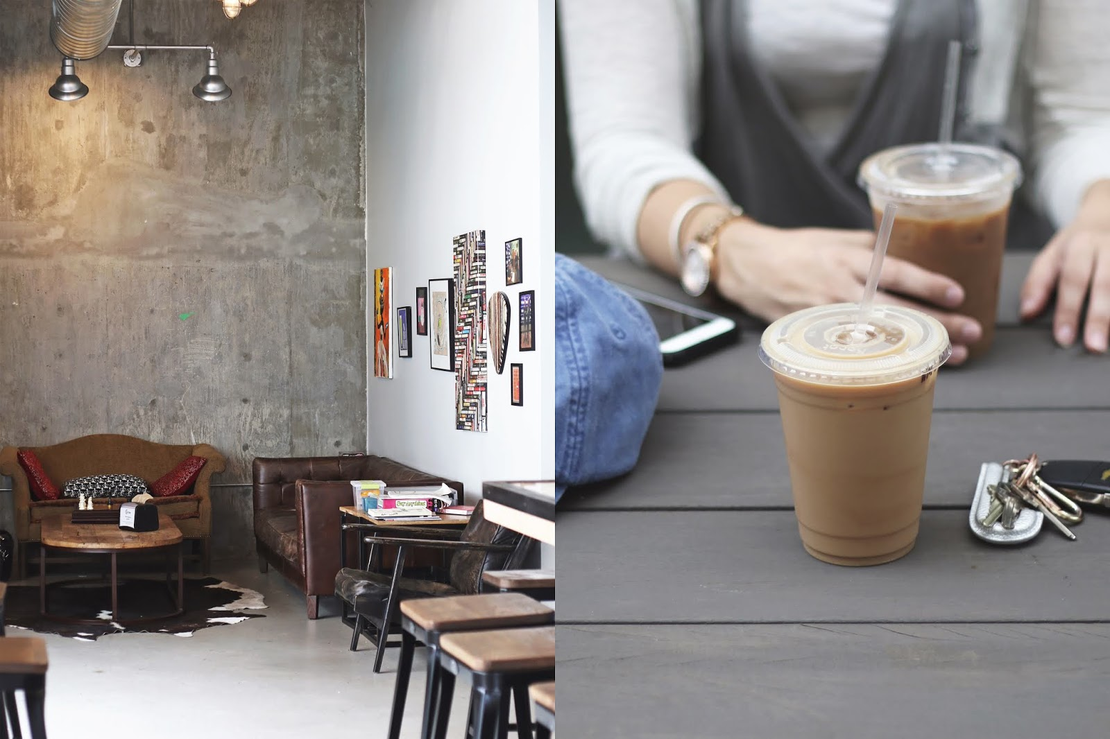 Coffee Shark Austin, Iced Coffee, Cozy Coffee Shop, Coffee Shops Vibe