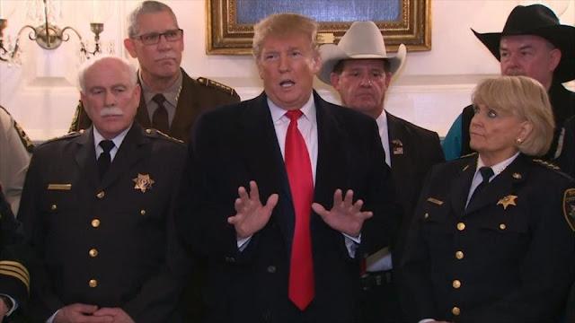 Trump llega a Texas para promover construcción de polémico muro