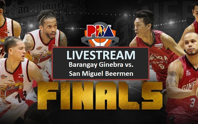 Ginebra vs. San Miguel Game 1 PBA PH Cup Finals 2017