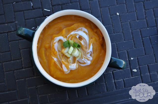 Thai Butternut Squash Soup #recipes #soup