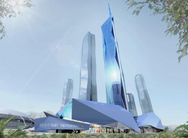 Bangunan Kelima Tertinggi di Dunia Akan Dibina di Kuala Lumpur