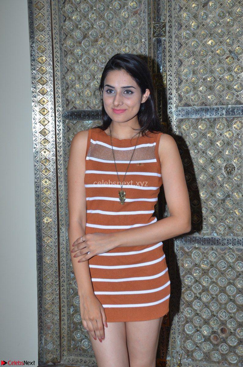 Nikhita Actress and Telugu Model Nikhita in Spicy Small Sleeveless Dress ~ CelebsNext Exclusive
