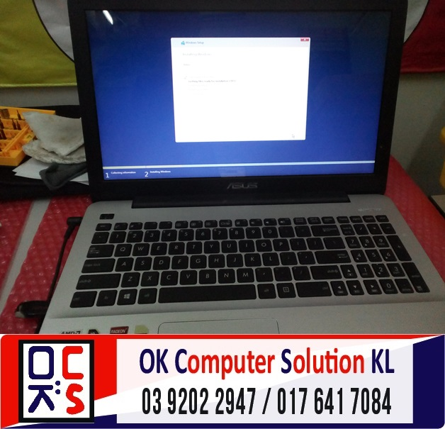 [SOLVED] FORMAT BACKUP ASUS X555D | REPAIR LAPTOP CHERAS 5