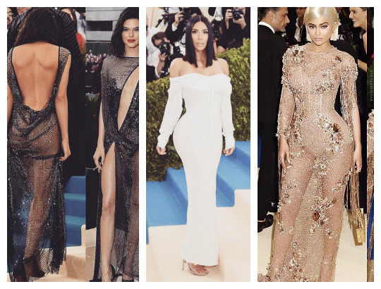 Someone said Kim, Kylie, Kendall Jenner looked boring at Met Gala 2017! You agree? (photos)
