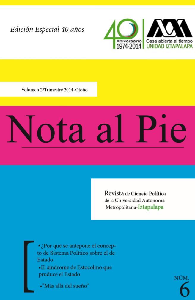 Revista Nota al Pie: Sexto número