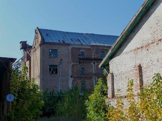 Новгородское. Здание паровой мельницы П. П. Дика