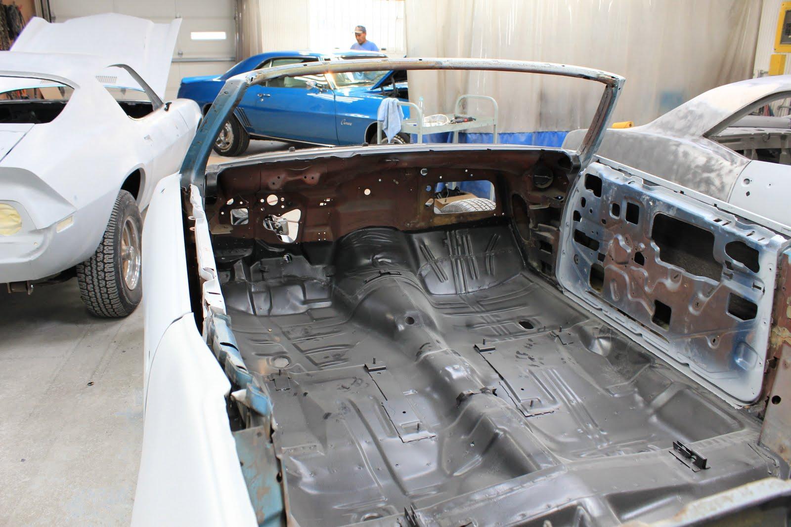 Don Polson 1969 Pontiac Gto Convertible 2 Restoration