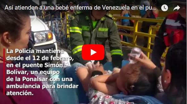Así trasladaron a un bebé enfermo hasta Colombia para salvarle la vida
