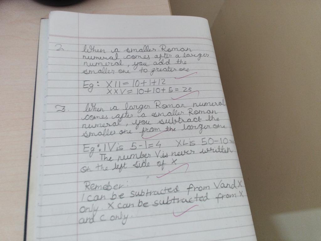 Pis Vadodara Std 4 Grade 4 Maths Ch Numbers