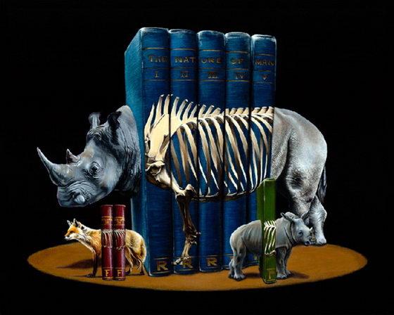 Bizarre Animal Paintings-2