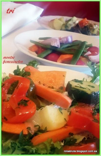 Trilogía vegetal - Roba bruta, fem cuinetes