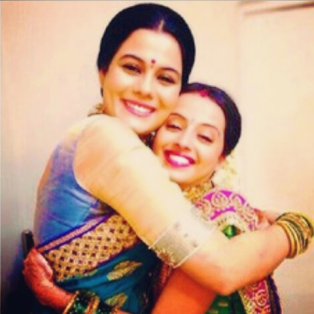 shrenu parikh , geetanjali tikekar ,  ,, Geetanjali Tikekar Hot pics, Marathi Actress in Lanavi Saree