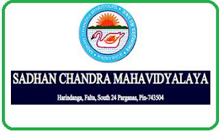 Sadhan Chandra Mahavidyalaya, Harindanga, Falta, South 24 Parganas - 743504, West Bengal
