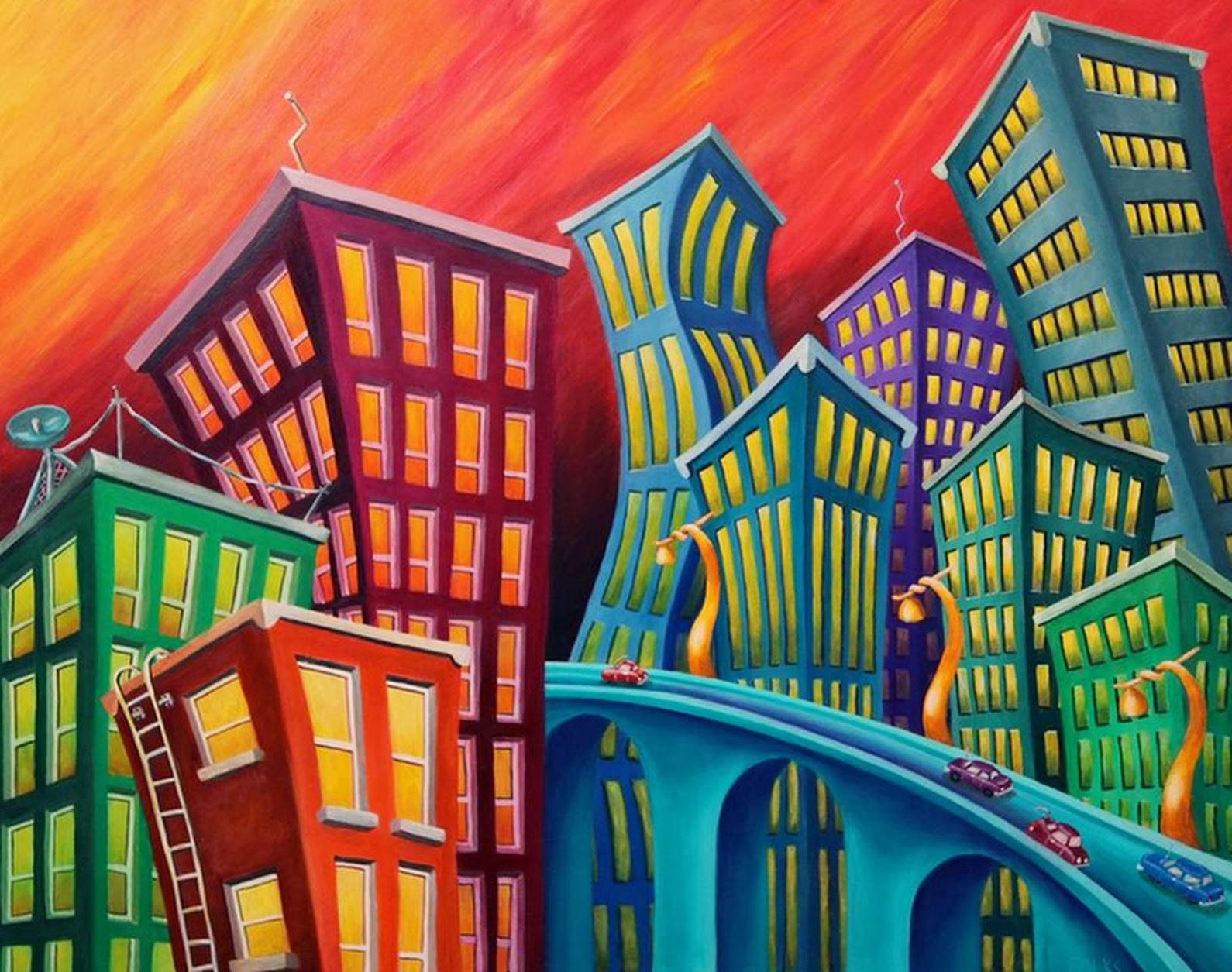 Pintura Moderna Y Fotografía Artística Pintura Artística Del