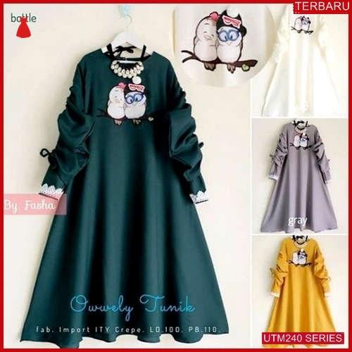 UTM240O67 Baju Owwely Muslim Tunik UTM240O67 0F0 | Terbaru BMGShop