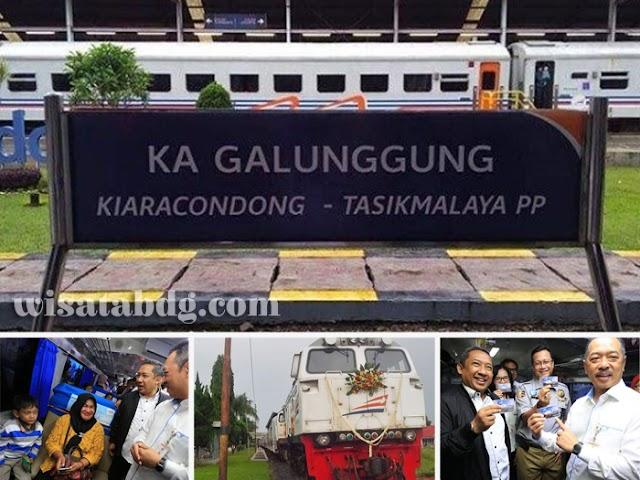 Jadwal, Harga Tiket, dan Stasiun Pemberhentian KA Galunggung Bandung - Tasikmalaya