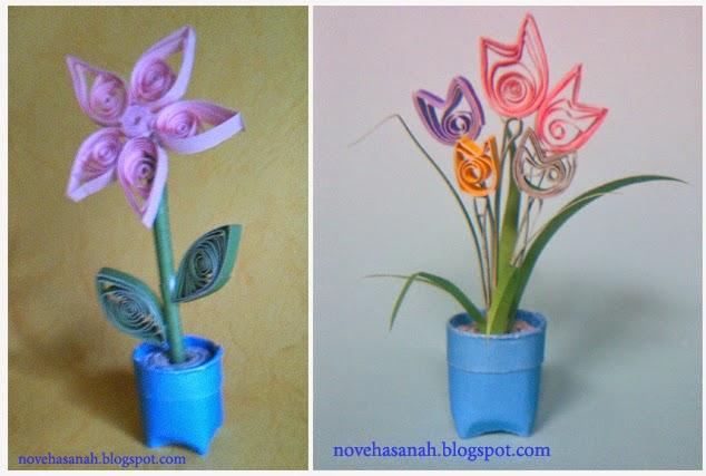 Cara Membuat Bunga dari Kertas Bekas d37ce1f5de