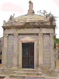 O Jazigo de Bernardo Iturraspe, no Cemitério da Recoleta, Buenos Aires