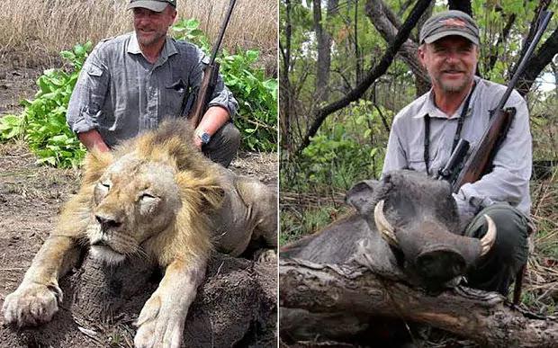 Pemburu Hewan Liar Kejam Ini Tewas Jatuh dari Tebing. Karma?