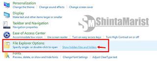 Cara Mudah Unhidden / Memunculkan File Yang di Sembunyikan di PC