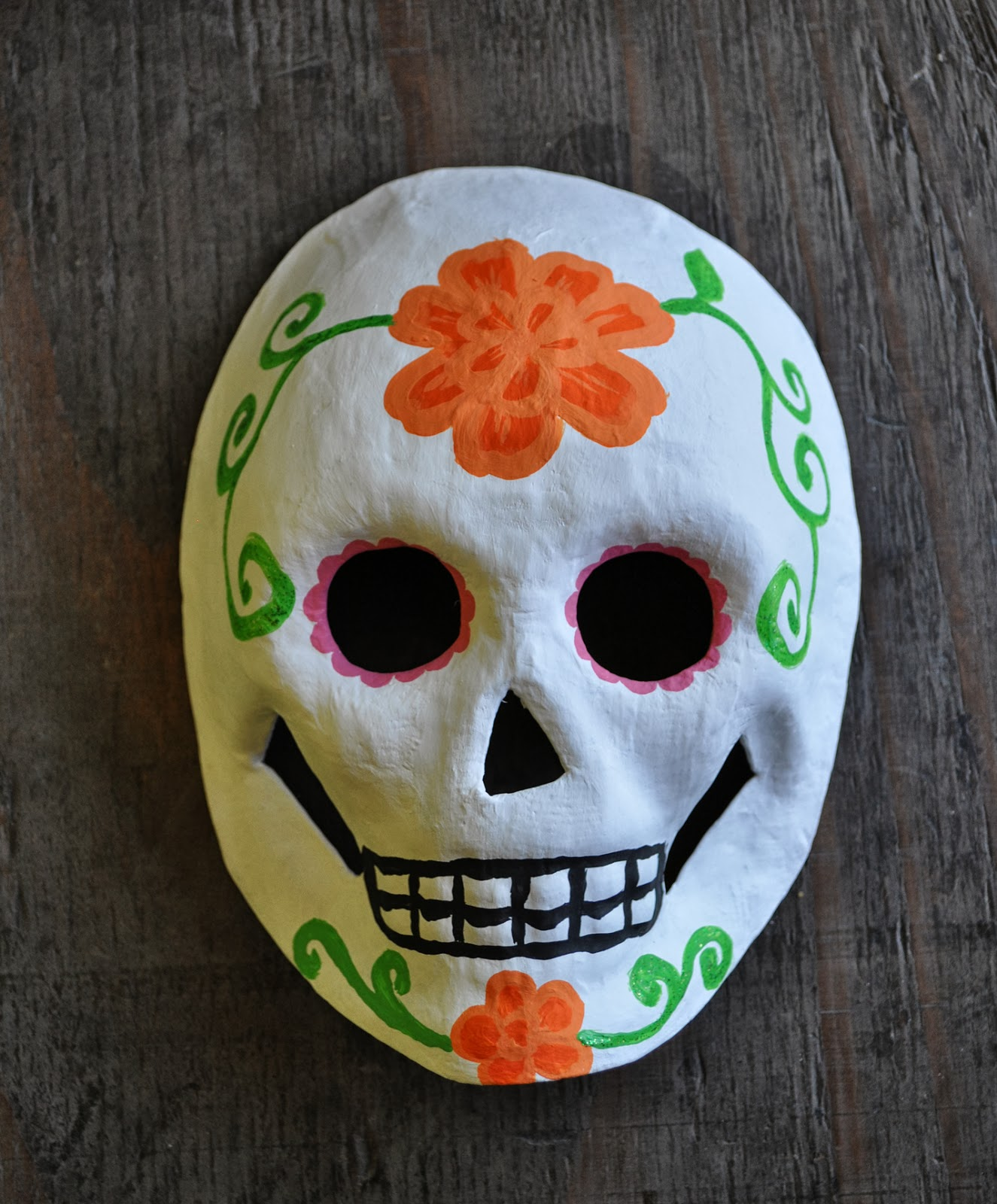 Artelexia: Day of the Dead DIY #20: Sugar Skull Mask Workshop