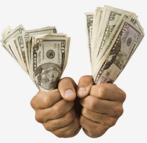 la necesidad de ganar dinero