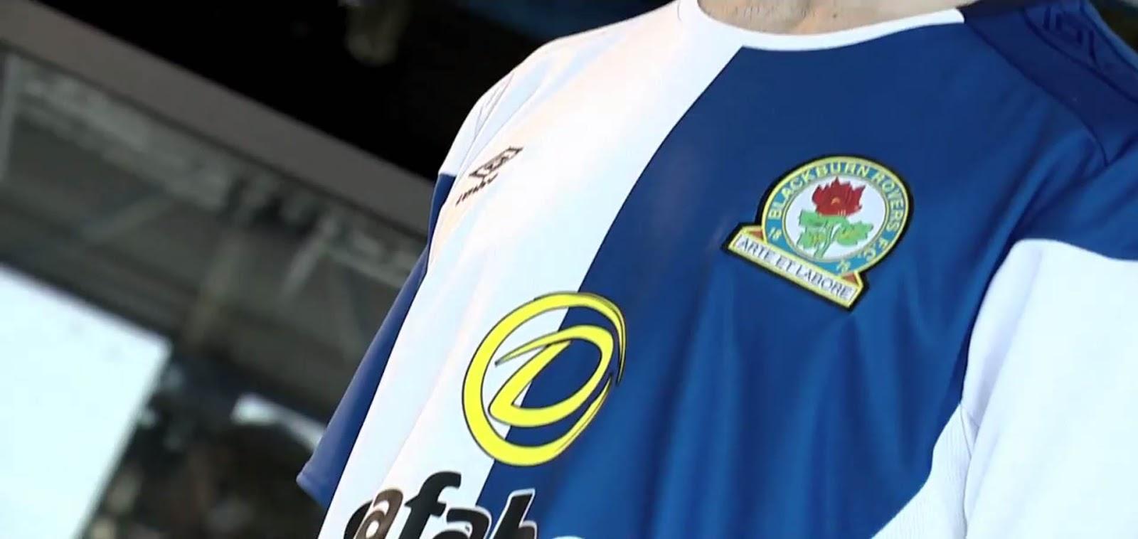 Blackburn rovers 17 18 home kit released footy headlines for Blackburn home