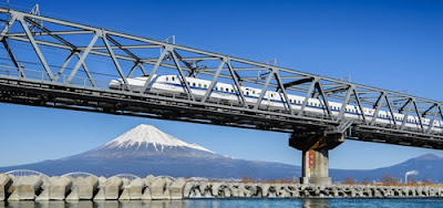 Trens-bala no Japão