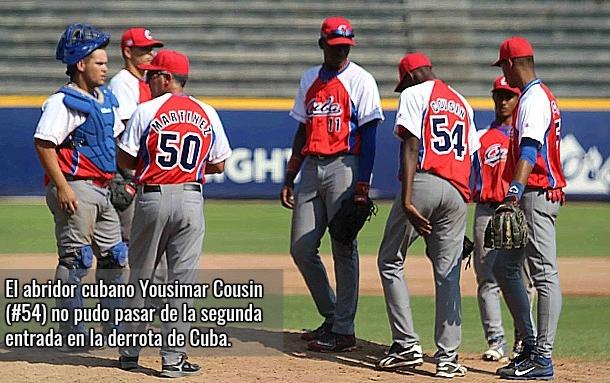El equipo Cuba sub-18 no pudo con el empuje de los Estados Unidos y quedó con la plata
