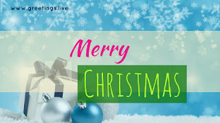 Simple Merry Christmas greetings