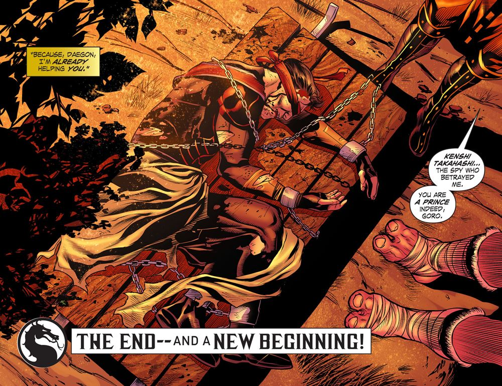 Mortal Kombat X Comic Pdf