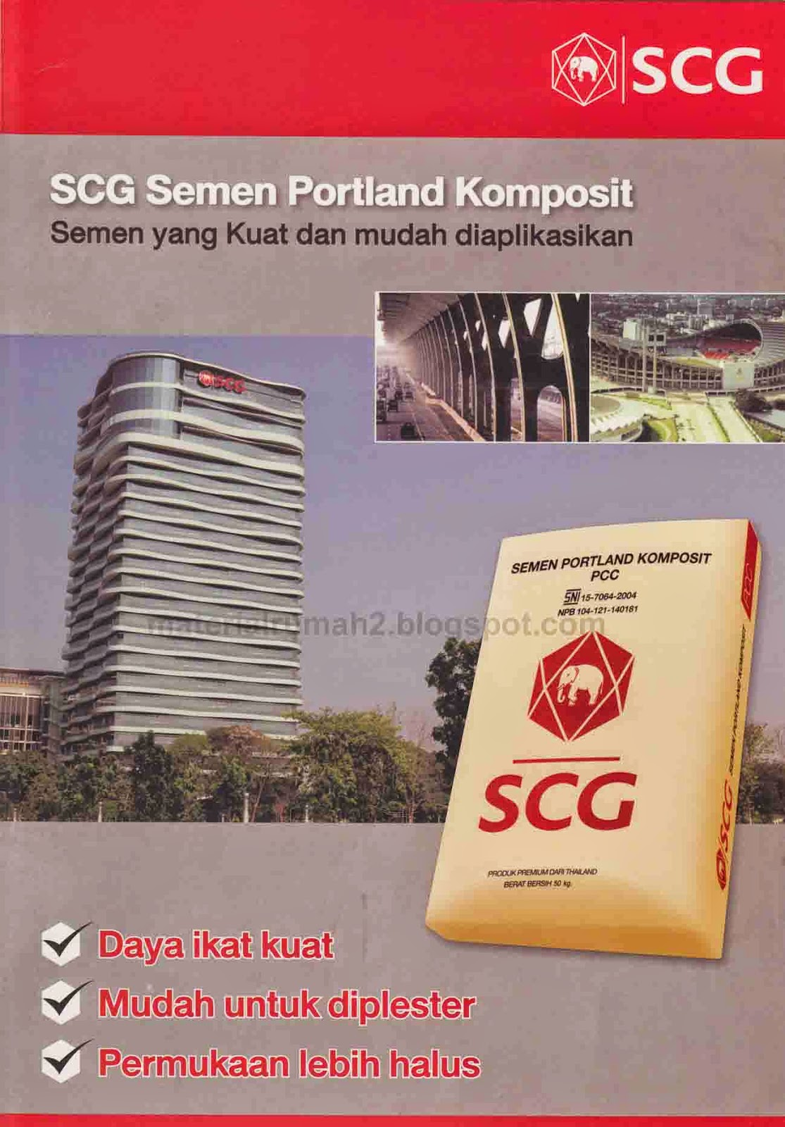 Semen Portland Komposit SCG