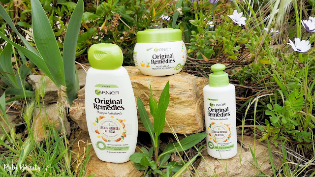 garnier original remedies leche de almendra nutritiva vegan vegano review opinion