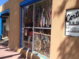 Bead store in downtown Sante Fe, photo by K.Lindemer