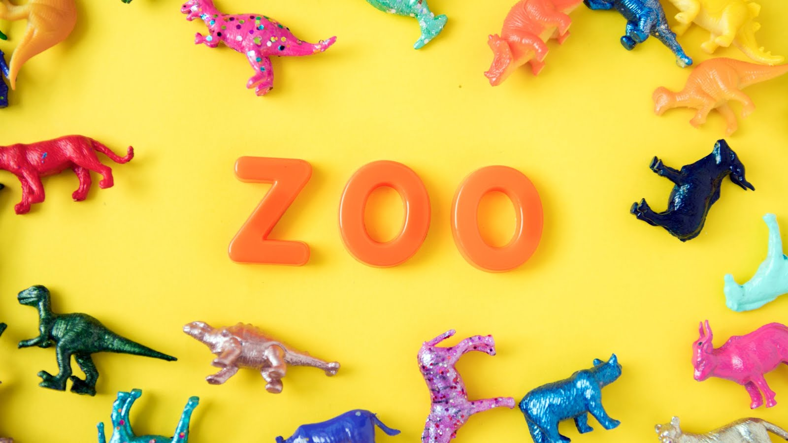 خلفيات بوربوينت حديقة الحيوان للأطفال