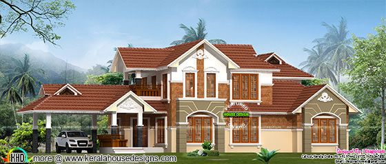 Kerala Traditional model 2900 sq-ft home