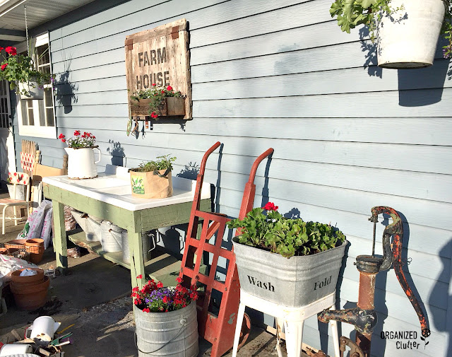 Planning & Planting the Junk Garden 2018 #junkgarden #gardenjunk #annuals #perennials #outdoordecorating