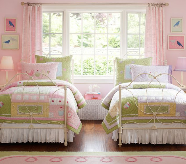 Bedroom Athletics Newport Bedrooms For Girls Designs Bedroom Design Ideas Grey Bedroom Chairs With Arms: {Beautiful Nest}: More On The Girls' Beach Cottage Room