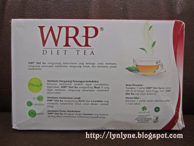 efek minum wrp diet tea