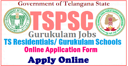 Online Application Form for TSPSC Gurukulam PGT TGT Recruitment Notification @ tspsc.gov.in TS Gurukulam Online Application Form tspsc.gov.in .Apply Online for TSPSC Gurukulam PGT TGT Recruitment | TSPSC Gurukulam Notification 2017 | Apply Online/Online Application for 7306 TGT PGT PET PD ART CRAFT Music Teacher ,Librarian ,Staff Nurse Jobs.Online Application Form @ tspsc.gov.in for TSPSC Gurukulam PGT TGT Recruitment Notification, Online Application form for TSPSC Gurukulam PGT TGT Recruitment Notification | Telangana State Public Service Commission has initiated Online Applicartion form at its Official website | Direct Recruitment Portal tspsc.gov.in for the aspirants who are going to apply Online for posts of Telangana Gurukulam PGT Posts Graduate Teacher Posts TGT Trained Graduate Teacher Posts and eligible candidates have gone through the Scheme of Examination ,Syllabus and complete Notification from TSPSC . Herer the Aspirants should know How to Apply Online for the Posts they like to Apply online./2017/04/online-application-form-for-tspsc-gurukula-pgt-tgt-pet-pds-Recruitment-notification-tspsc.gov.in.html