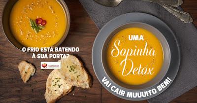 Sopa Detox 300g - Sabor Italiano (Tomate com manjericão)!